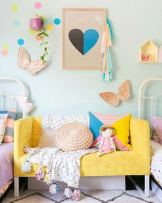 New Kids Room Furniture Colors Ideas Kids Room Furniture, Colorful Furniture, Bedroom Furniture, Bedroom Benches, Furniture Design, Furniture Online, Furniture Stores, Modern Furniture, Kids Daybed