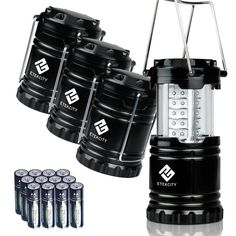 Etekcity 4 Pack LED Camping Lantern ** To view further for this item, visit the image link.