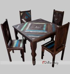 Visit us to buy Dining Table and Chairs, Wooden Rough Finish Patio Dining Sets, Wood Dining Table Set online. Rise Only is wholesale manufacturer of Wooden Patio Dining Table Set, Rough Finish Wood Dining Table and Chairs Set Indian Furniture, Furniture Sale, Dining Furniture, Custom Furniture, Buy Dining Table, Dining Chairs, Recycled Wood Furniture, Wood Grill, Wooden Patios