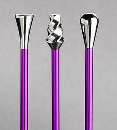 Peppermint & Plaid: Love these custom designed knitting needles.