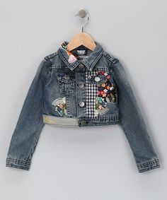 Ideas for Decorating Denim Jackets | Great way to decorate a demin jacket