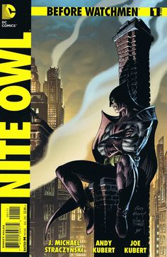 Kara's Comic Blog: Before Watchmen~Nite Owl #1 of 4 (DC)