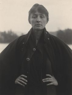 Describe Georgia O'Keeffe's expression in one word. Georgia O'Keeffe, Gelatin silver print. 4 x in. National Gallery of Art, Alfred Stieglitz Collection. Alfred Stieglitz, O Keeffe Paintings, Georgia O'keeffe, Cecil Beaton, History Of Photography, Photography Projects, Philadelphia Museum Of Art, Richard Avedon, National Gallery Of Art