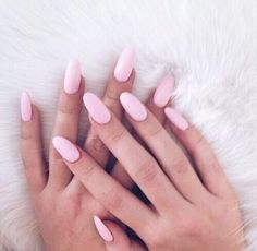 Pink nails - There are no falls!