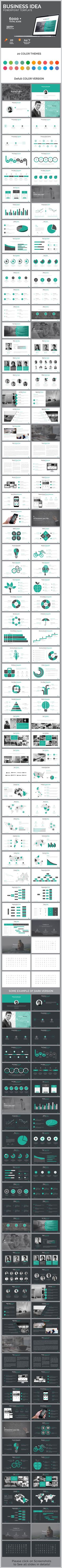Business Idea Powerpoint Presentation Template — Powerpoint PPTX #business presentation #powerpoint • Download ➝ https://graphicriver.net/item/business-idea-powerpoint-presentation-template/19162663?ref=pxcr