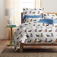 Dog Parade Percale Sheets & Bedding Set | The Company Store