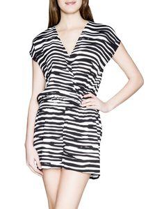 Striped Viscose Jumpsuit