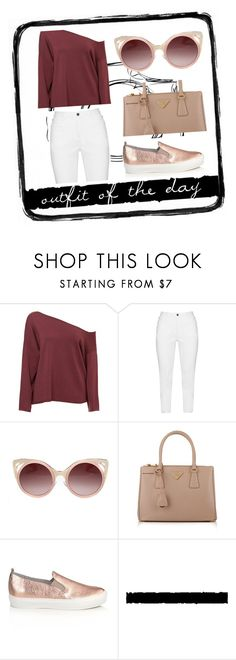 """""""outfit of the day #10"""" by whyfashionblog on Polyvore featuring moda, Zhenzi, WithChic, Prada, Apair e Tim Holtz"""