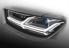 #Audi #Q7 #concept #design #sketch