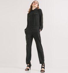 Combinaison-pantalon Femme noir - Promod