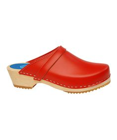 Holiday Red Clog - Women