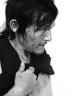 Norman Reedus (i could care how dirty & sweaty he is... its all good)