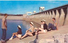 Kentucky Lake Lock & Dam in the 50's when we were fearless.