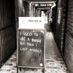 Then I got a real job.... #10sqM #yearofthedadjoke #geelong #cafe #barista #coffee #awesome #beautiful #fun #cool #smile #pun #dadjoke #inspo #yolo #swag #streetphotography #industrial #retro #monochrome #bnw #banking #finance #interesting #instadaily #picoftheday #vsco