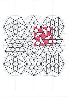 Geometry Art, Sacred Geometry, Mandala, Pop Art Girl, Islamic Patterns, Geometric Drawing, Math Art, Hexagons, Line Design