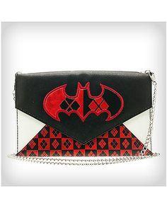 Harley Quinn Logo Envelope Wallet - Spencer's