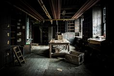 Empty Spaces by MrHeaver