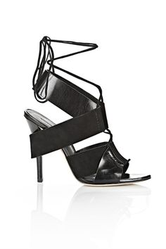 Alexander Wang Malgosia High Heel Lace-Up Sandal, $625. From A Statement Worth Making — 15 Pairs Of Heels You Need Now! #refinery29