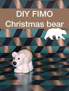 Fimo tutorial step by step to create a christmas bear do it yourself xmas craftds for kids tutoriel pour former un ourson en pâte fimo ours polaire pour Diy And Crafts Sewing, Crafts To Sell, Art Lessons For Kids, Art For Kids, Cute Crafts, Fall Crafts, Holiday Crafts, Diy Crafts Videos, Craft Tutorials