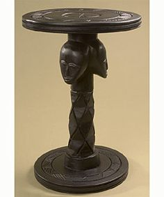 Overstockcom African Handcarved Accent Table Ghana This