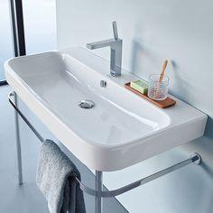 Tvättställ Duravit Happy D2 2318 - Enkelhandfat - Tvättställ - Bygghemma.se