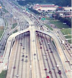 HOV Lanes. If every interstate highway were like the ones goin' through Texas......