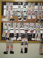 There's a Dragon in my Art Room: Crazy Legs, Texture Socks - by grade 1