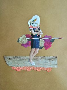 Handmade Collages by Marcos Morales, via Behance
