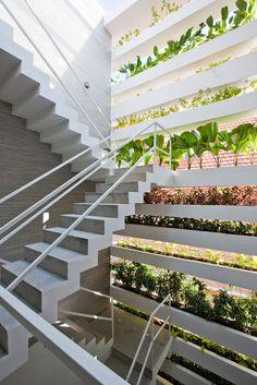vo trong nghia architects - stacking green - saigon - vietnam #architecture @martinacamarri