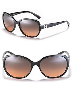 Tory Burch Oval Logo Temple Sunglasses | Bloomingdale's#fn=spp%3D63%26ppp%3D96%26sp%3D5%26rid%3D52