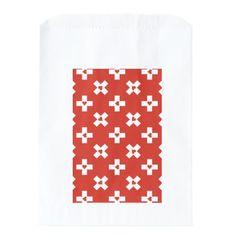 Switzerland Flag with  Heart pattern Favor Bag - modern style idea design custom idea