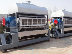 High quality paper egg tray machine can turn waste paper into useful egg trays. Get reasonable paper egg tray making machine price now. Drying Room, Electricity Consumption, Paper Tray, Waste Paper, Forced Labor, Vacuum Pump, Paper Packaging, Equipment For Sale, Making Machine
