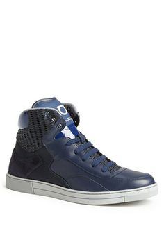 Salvatore Ferragamo 'Robert' High Top Sneaker available at #Nordstrom