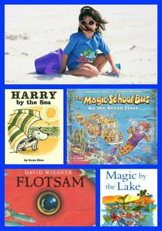 10 Enjoyable Books for a Day at the Beach or Lake - fun picture books and great read-alouds for the blanket!