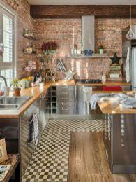 50 Best Kitchen Cabinets Design Ideas To Inspiring Your Kitchen 33 kitchen Best Kitchen Cabinets, Kitchen Cabinet Design, Kitchen Flooring, Interior Design Kitchen, Kitchen Backsplash, Kitchen Furniture, New Kitchen, Kitchen Decor, Kitchen Wood
