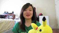 Make your very own Pikachu!! Very adorable. Just a video showing the end of a pattern and where to buy the pattern.