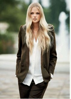Monthly Muse: Gabriella Wilde's Rapnzul Hair. New on JNSQ.