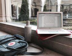 study, studyblr, and laptop image Study Desk, Study Space, Work Desk, School Motivation, Study Motivation, Coffee Study, Studyblr Notes, Study Corner, Study Organization