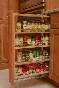 #kitchen #remodel #spice #rack