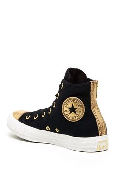 Chuck Taylor Side Zip High Top Sneaker by Converse Converse Outfits, Converse All Star, Converse Chuck Taylor, Cute Converse, Converse Sneakers, Converse High, Galaxy Converse, High Top Sneakers, Sneakers Mode