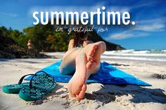 summer time, can come annnny time now.