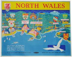 Railway poster for North WalesPosters from bygone age of North Wales travel sold at auction - Daily Post JUL16