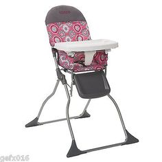 Baby Foldable Feeding High Chair Toddler Infant Booster Dining Seat  Portable Kid