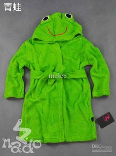 Wholesale Funny Frog Duck Kids Bath Robes Baby bathrobe bathing boys girls robe bath robe Beach towel blanktet, Free shipping, $9.5~12.38/Piece | DHgate Mobile | m.dhgate.com