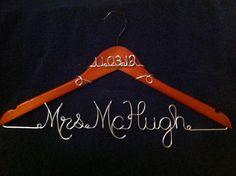Wedding Dress Hanger by GoodLookingHangers on Etsy, $20.00