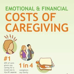 The Emotional and Financial Costs of Caregiving #caregiver