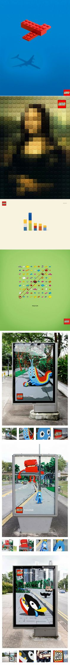 For many of us, LEGO provided the building blocks for our fervent childhood imaginations. I have fond memories from my own childhood of playing with LEGO and loving the freedom to build whatever I wanted. Many of you may even continue to use LEGO to this day! Below are a series of ads that beautifully communicate this sentiment of freedom and imagination. Enjoy!