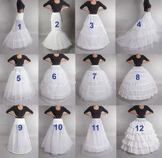 LAMYA Wedding Petticoat Crinoline Slip Underskirt Bridal Dress Hoop Vintage Slips For Wed Dress Fancy Skirts, Tutu Skirts, Hoop Skirt, Creation Couture, Dress Sewing Patterns, Bustiers, Fashion Sewing, Bridal Accessories, Sewing Hacks