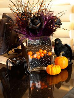 centerpiece idea - Halloween Centerpieces