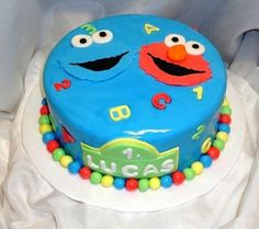 Sesame Street  By baker101 on CakeCentral.com